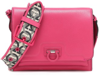 Salvatore Ferragamo Trifolio Small leather crossbody bag