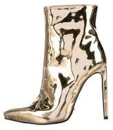 Tony Bianco Freddie Metallic Ankle Boots