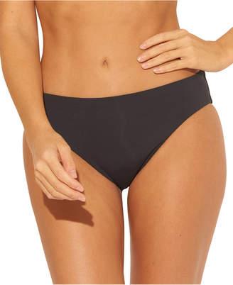 Bleu by Rod Beattie Solid Ruched-Back Bikini Bottoms Women Swimsuit