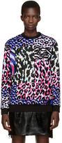 Versace Multicolor Camopard Sweatshirt