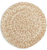 Lucky Brand Natural Round Chevron Placemat