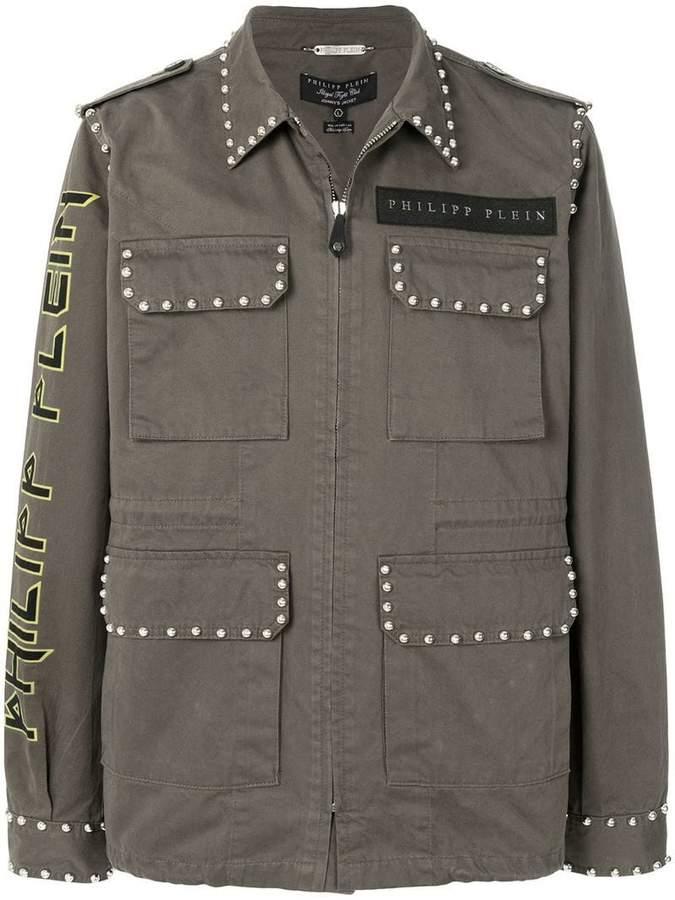 Philipp Plein multi-pocket jacket