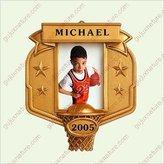 Hallmark EVERY KID'S A STAR - BASKETBALL 2005 Ornament QXG4752 by