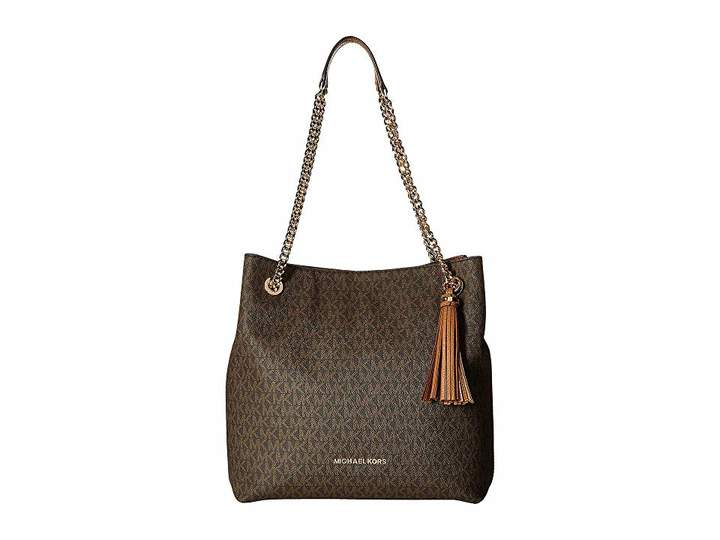 2abfd8fe0531aa Michael Kors Jet Set Shoulder Tote - ShopStyle