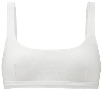 Matteau Nineties Scoop-neck Bikini Top - White