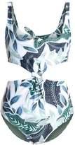 Mara Hoffman SEA TREE Swimsuit sage
