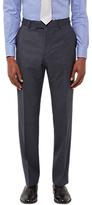 Jaeger Wool Melange Birdseye Regular Fit Suit Trousers, Grey