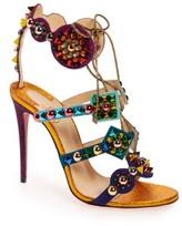 Christian Louboutin Women's Kaleikita Lace-Up Sandal