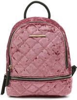 Aldo Women's Edroiana Velvet Mini Backpack