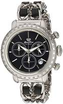 Glam Rock Women's GR77126DS1 Bal Harbour Analog Display Swiss Quartz Silver Watch
