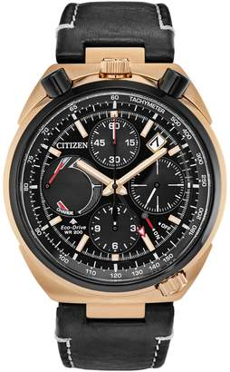 Citizen ProMaster Tsuno Chrono Racer Limited Edition WR200 Leather Watch