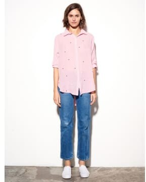Thumbnail for your product : Sundry Stars Shirt Peony - S - Pink