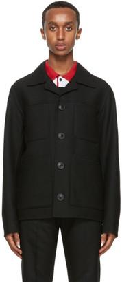 Ami Alexandre Mattiussi Black Unstructured Jacket