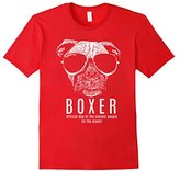 Women's Boxer Dog Official Dog Of the Coolest Dog Lovers TShirt Large