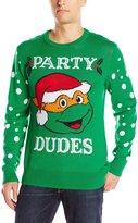 Nickelodeon Men's Party Dudes Sweater