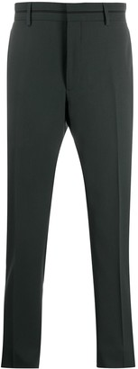 Fendi Slim Tailored Suit Trousers