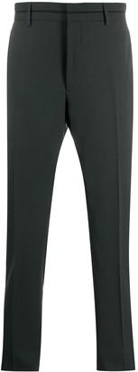 Fendi Slim Tailored Suit Trousers