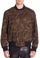 Ovadia & Sons Camo Bomber Jacket