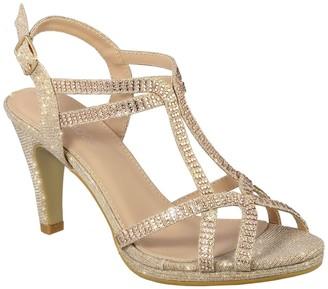 Top Moda Garland Dressy Heeled Sandal