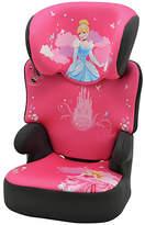 Disney TT Princess Groups 2-3 Black High Booster Car Seat
