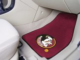 Fanmats Florida State Seminoles Universal Fit Carpet 2 Pc Car Floor Mat (Rug)