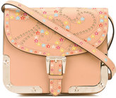 RED Valentino star buckle strap bag - women - Leather/metal - One Size