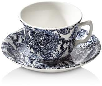 Ralph Lauren Faded Peony Tea Cup & Saucer Set