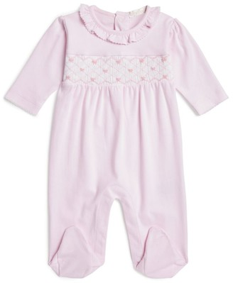 Kissy Kissy Smocked Bow All-In-One
