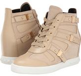 Balmain Pierre Cut Out Wedge Sneaker Women's Wedge Shoes
