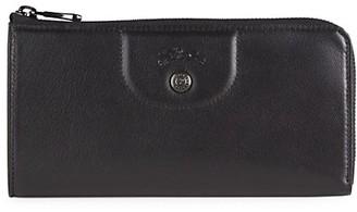 Longchamp Pe Pliage Cuir Zip Around Leather Wallet