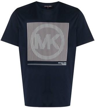 Michael Kors logo-print crew neck T-Shirt