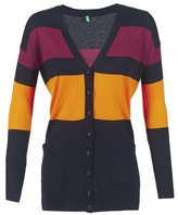 Benetton QUIROL Black / Yellow / BORDEAUX