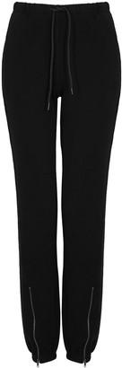 Cotton Citizen Milan black cotton sweatpants