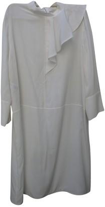 Marni White Silk Dresses