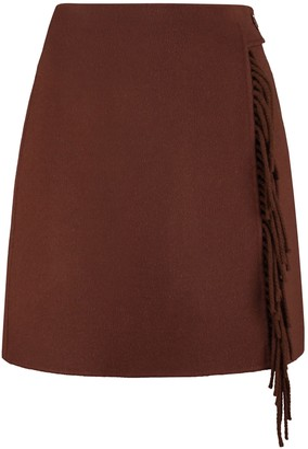 P.A.R.O.S.H. Leak Asymmetric Miniskirt