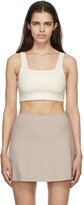 Thumbnail for your product : Girlfriend Collective Off-White Tommy Sports Bra