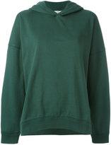 Closed plain hoodie - women - Cotton - S