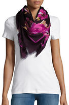 Collection 18 Floral Fringed Scarf