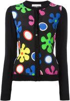 Moschino flower power cardigan - women - Silk/Virgin Wool - 44