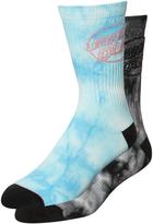 Santa Cruz Dye Dot Sock 2 Pack