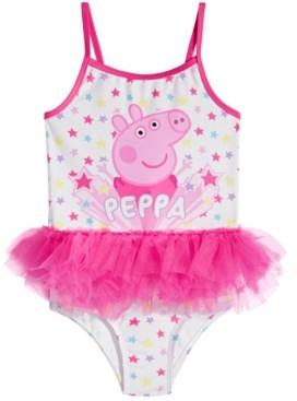 Peppa Pig Dreamwave Toddler Girls 1-Pc. Tutu Swimsuit