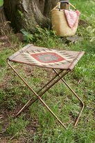 Urban Outfitters Kilim Folding Sling Stool