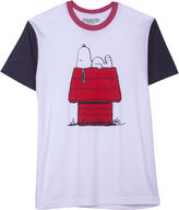 JCPenney Novelty T-Shirts Peanuts Snoopy House Graphic Tee