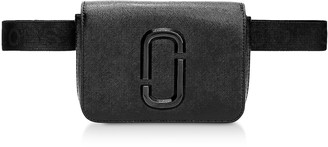Marc Jacobs Black Leather Hip Shot Belt Bag