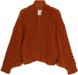 I Love Mr Mittens Honey Wool Cardigan
