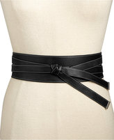 MICHAEL Michael Kors Wide Faux Knot Belt