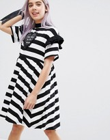 Lazy Oaf Used To Be Weird T-Shirt Dress