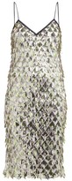 No.21 No. 21 - Jersey-lined Sequin Dress - Womens - Silver