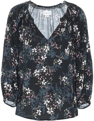 Velvet Valeria floral blouse