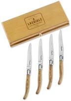 Laguiole Jean Dubost Olive Wood Jean Dubost Steak Knives